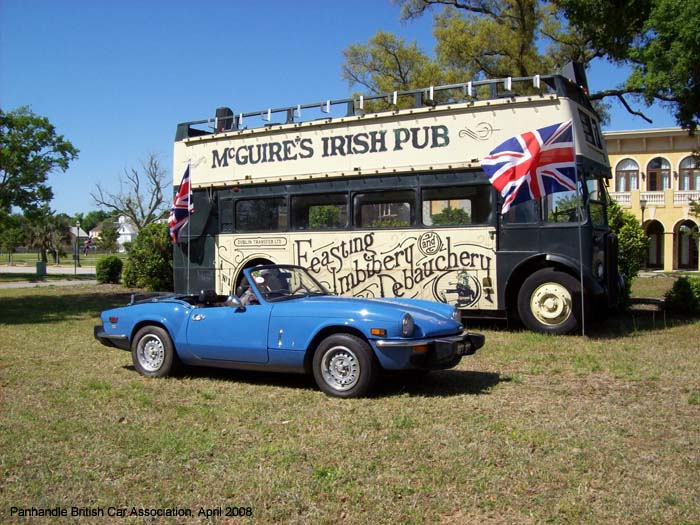 Pensacola British Car Show